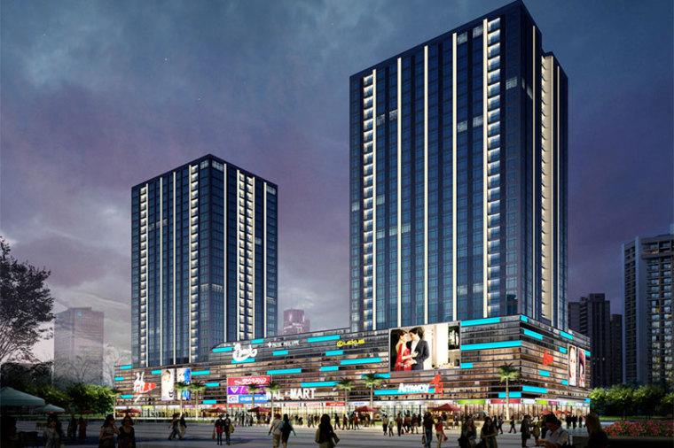 广东省大型商业广场室内给排水施工组织设计