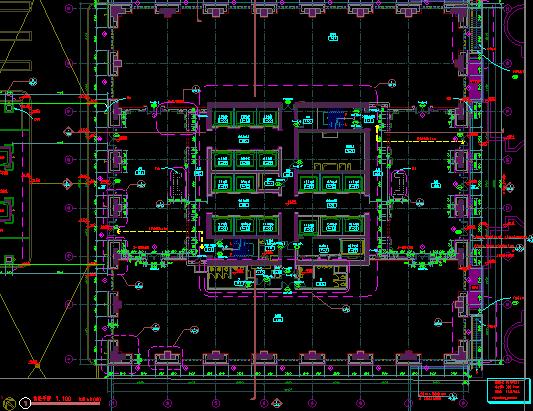 华东设计院——超高层某知名项目归档施工图_5