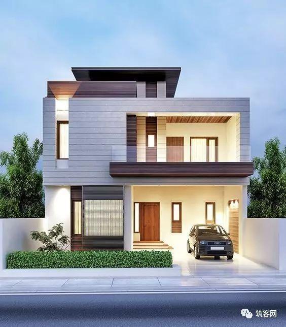40款·简洁的现代别墅设计_14