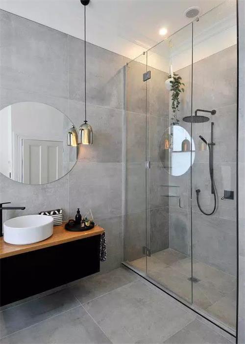 [装修知识]洗澡后卫生间总是湿漉漉的?原来是装修前忘记这个!