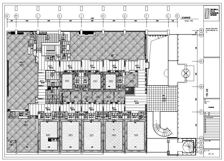 安徽豪华海鲜酒家室内设计CAD装修图纸(含65个CAD)