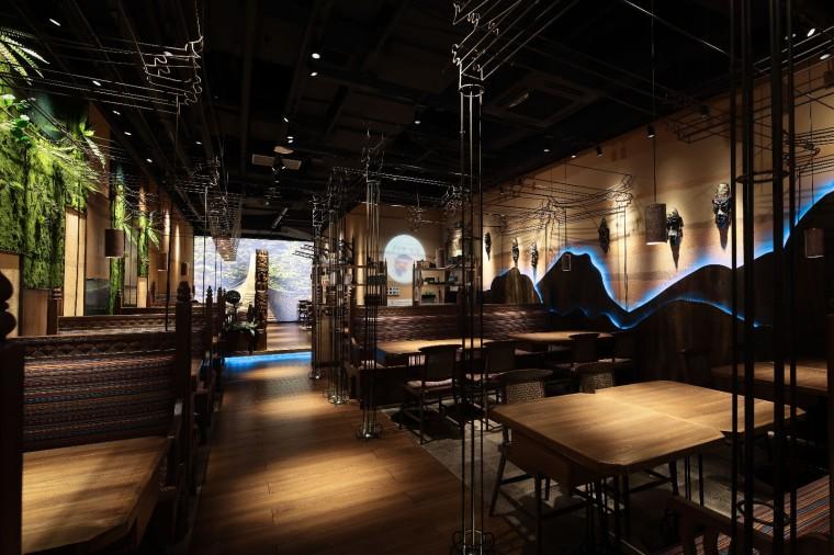 云南秘境彩泥餐廳
