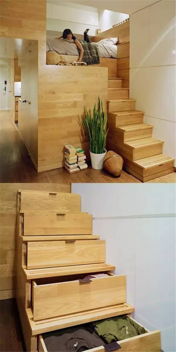 家里再小,都能装个楼梯_17