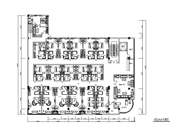 整套某大厦宾馆设计CAD施工图