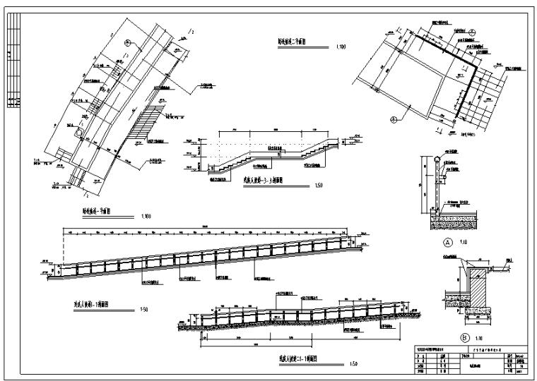 重庆广安思源广场景观工程CAD全套施工图_1