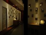 无锡泰思特西餐厅室内装修设计施工图(36张)