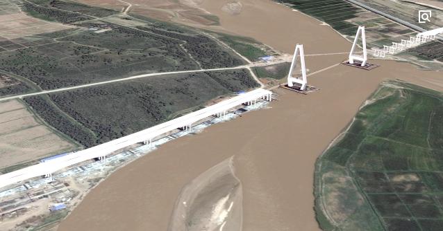 sketchup、locaspaceviewer实现公路模型在地理环境可视化应用