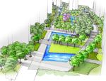[浙江]某城市五环住宅区景观方案文本设计(35页)
