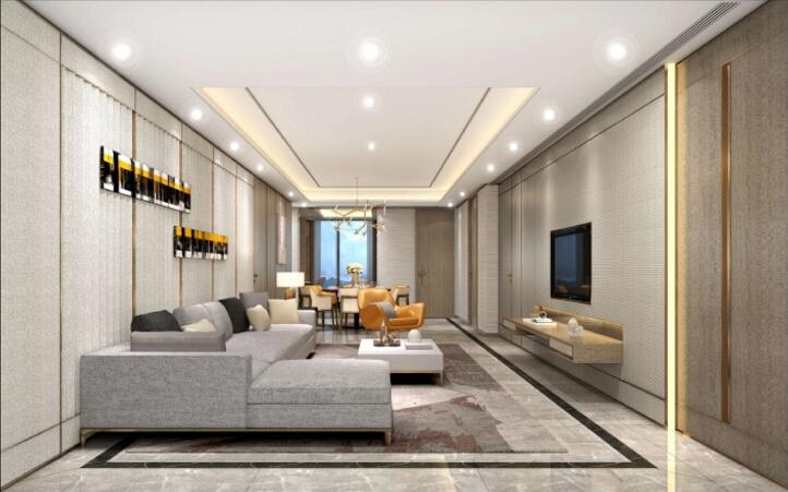 梁志天|现代轻奢风北京中粮天恒南苑住宅项目设计方案|PDF+JPG