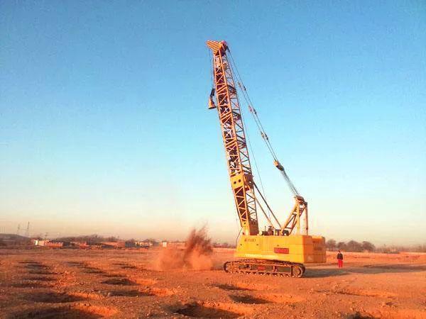 地基强夯施工时什么地基适合强夯置换以及步骤