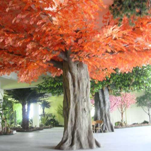 仿真树仿真红枫树 唯美秋色仿真植物
