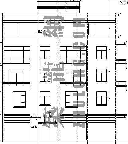 某私人别墅建筑、结构 、电气 、给排水施工图