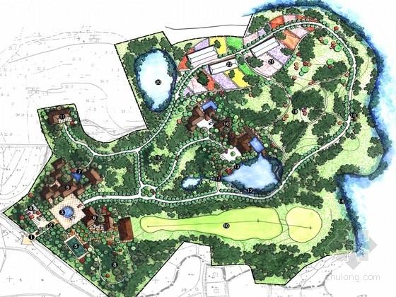 [合肥]观光休闲农业园花卉景观规划设计方案