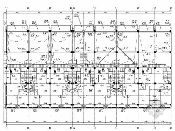 [湖南]办公楼群及低层商业建筑给排水消防施工图