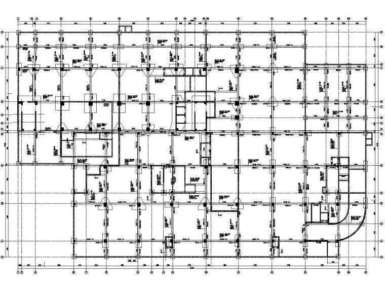 [江西]地上13层框架剪力墙结构图书馆结构施工图