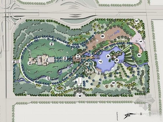 [广州]岭南园林风格历史文化主题公园景观设计方案