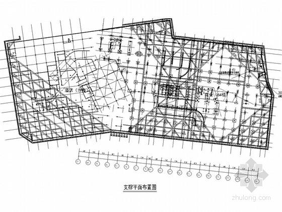 [浙江]二层地下室基坑围护结构施工图(土钉墙 桩撑体系)