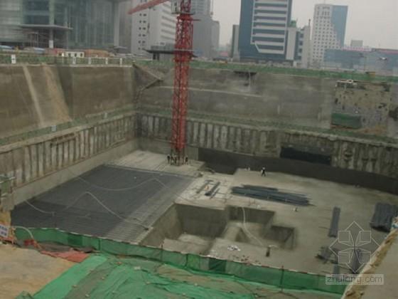 [广东]商场地下室基坑排桩锚索支护土方开挖施工方案
