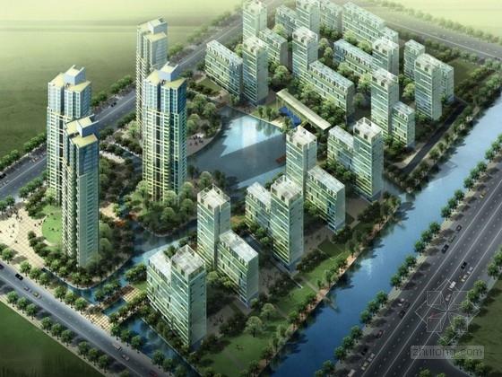[江苏]高层现代风格工业园区住宅规划设计方案文本