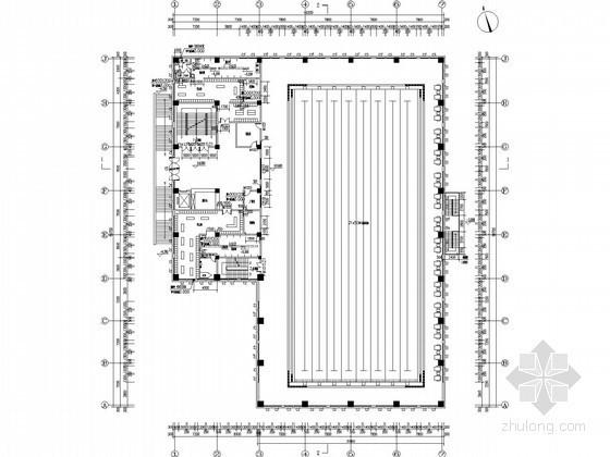 [云南]知名中学游泳池给排水全套图纸(水处理恒温恒湿、循环水处理)