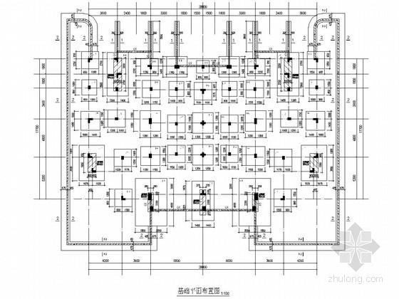 [安徽]三层异形柱框架轻质墙结构住宅楼结构施工图