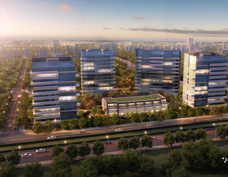 [上海]浦东前滩现代风格居住区建筑方案文本(PDF+284页)