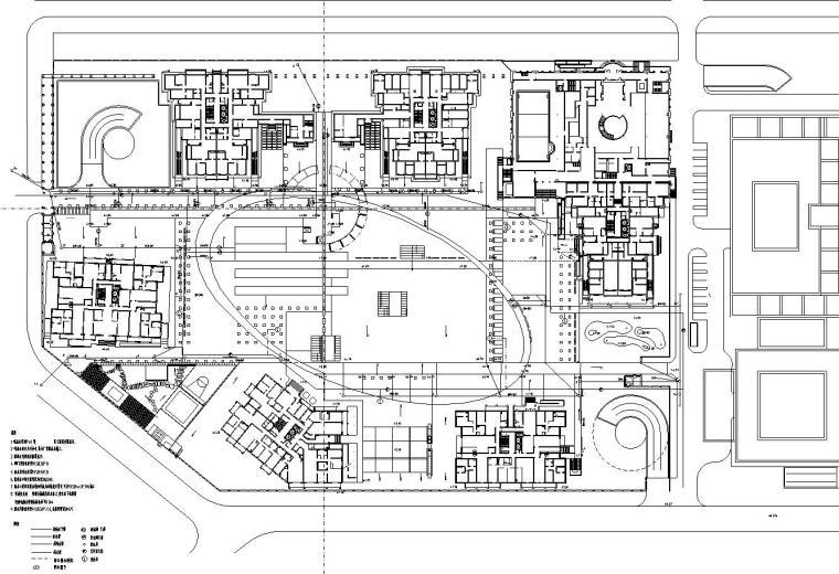 [上海]华庭嘉园居住区园林建筑施工图设计(给排水设计)
