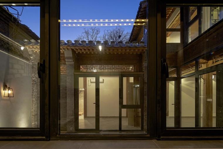 北京前门长巷三条合院改造-13