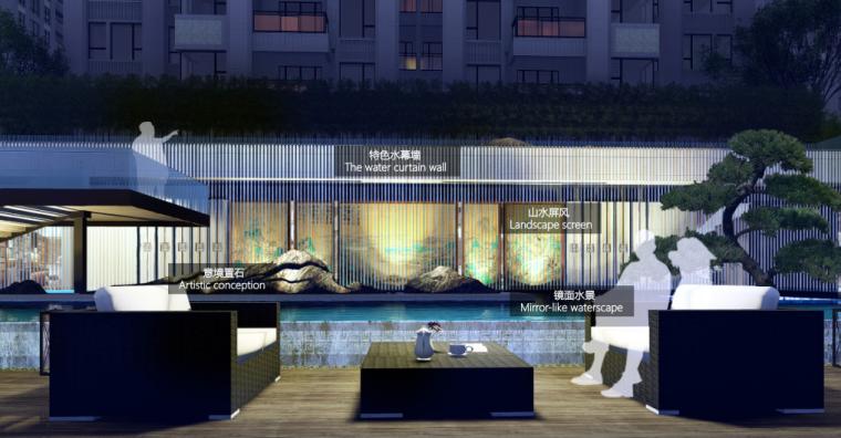 [四川]成都保利堂悦居住区景观方案设计(展示区+大区,新中式轻奢)