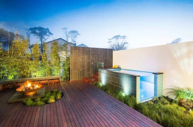 超养眼的25个现代庭院景观设计方案!