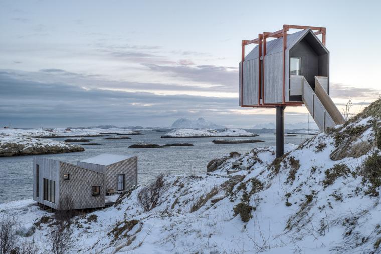 挪威冰期生物种遗区民宿