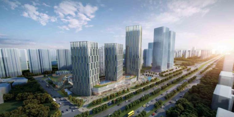 [山西]超现代感城市综合体项目规划方案