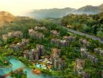 海南高端休闲养生度假区养生谷详细规划