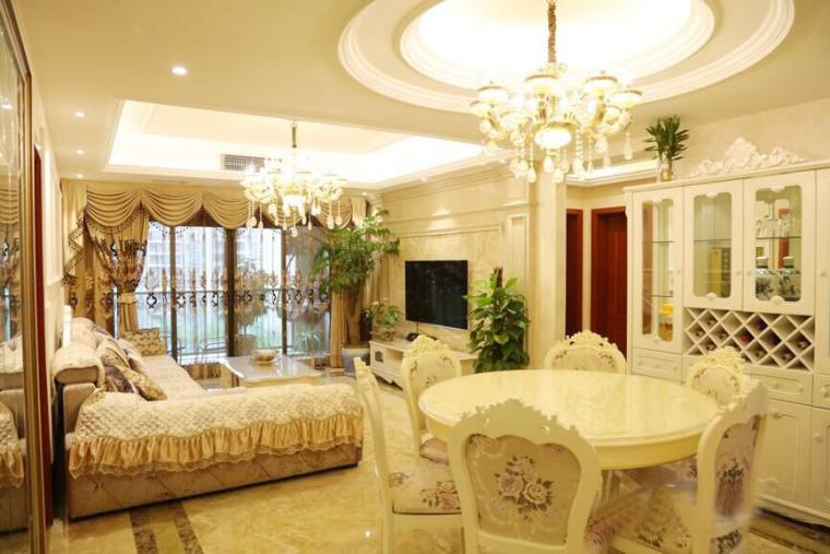 欧式风格的住宅