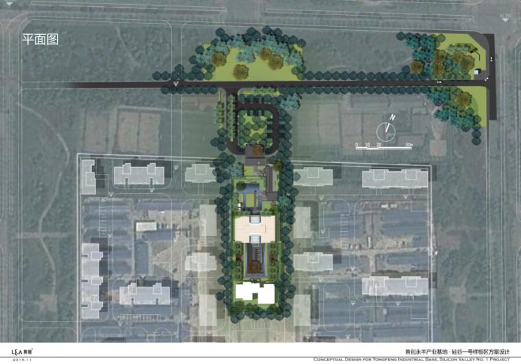 [北京]首创·硅谷一号项目样板区景观方案设计