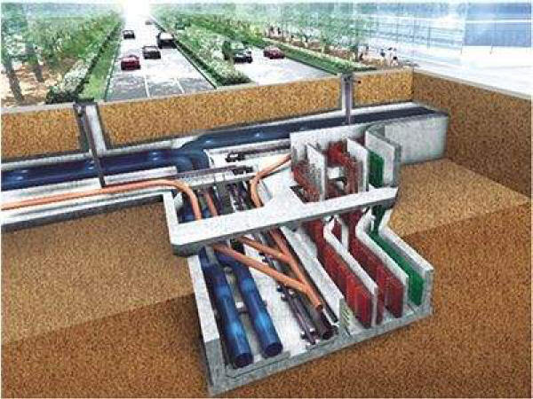 某地区地下管道施工方案