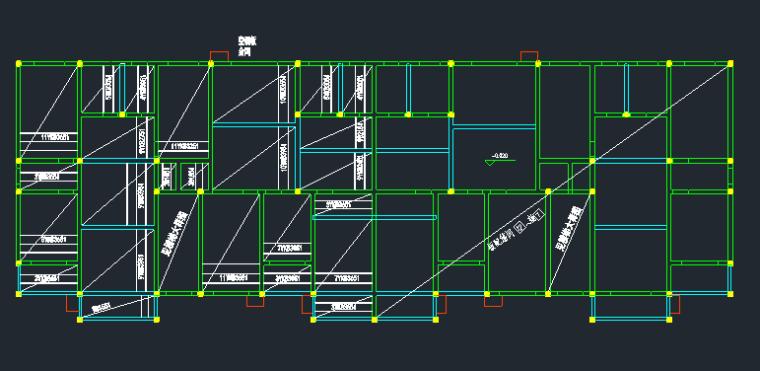 6层框架结构住宅楼建筑结构全套图_8