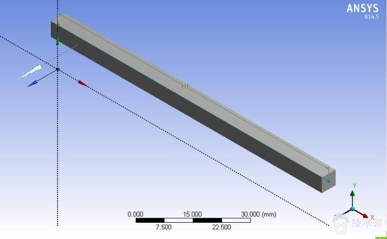 [干货] Ansys workbench获取梁弯矩、剪力图