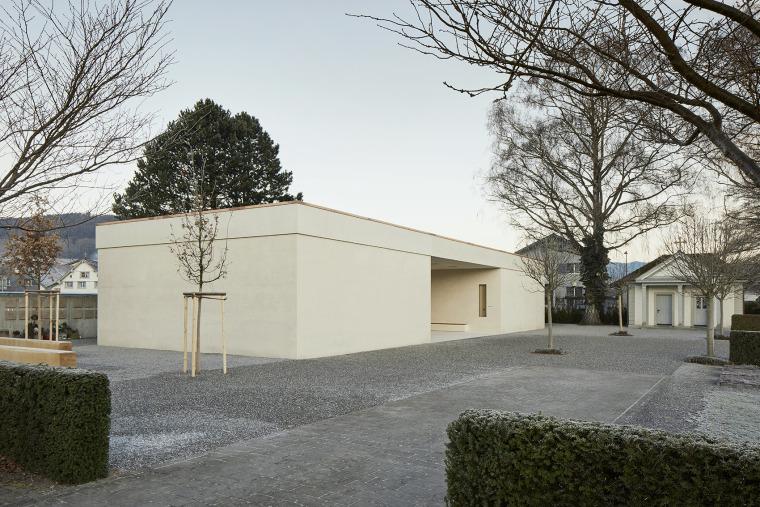 瑞士Oberriet公墓