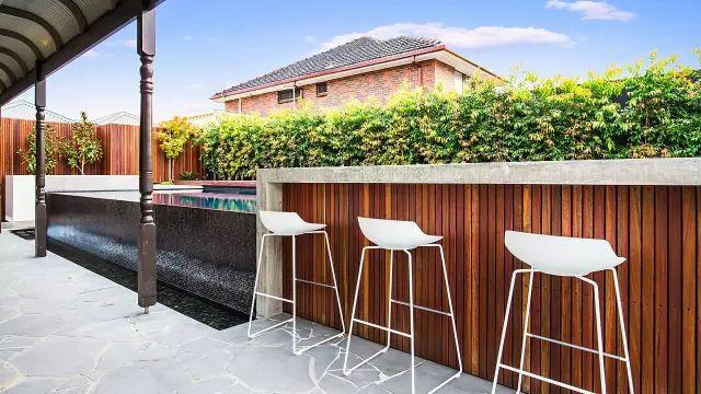 赶紧收藏!21个最美现代风格庭院设计案例_25