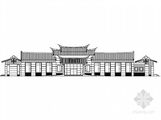 [福建]某二层迎宾馆建筑施工图