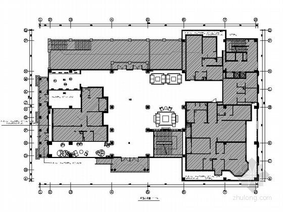 [北京]望京某高档公寓大楼成套装修图