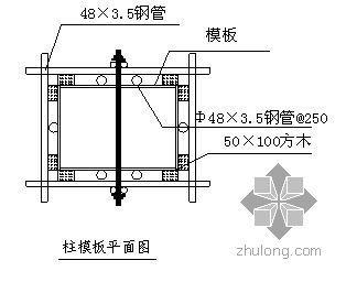 海宁某游泳馆模板施工方案(多层板)