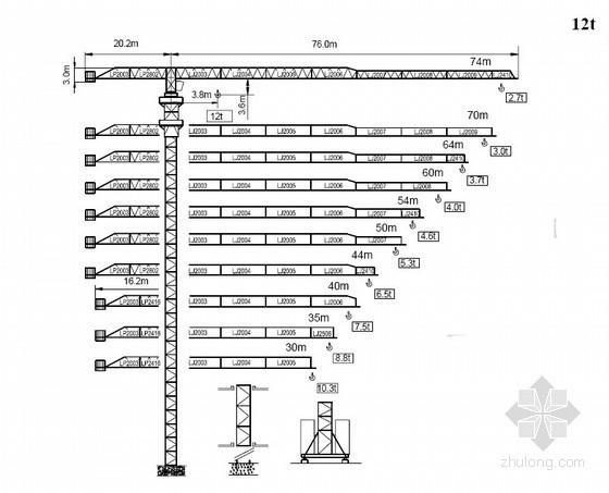 STT293塔式起重机安装使用说明书
