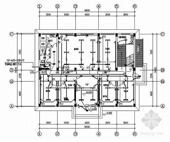 某卫生院综合楼电气设计图