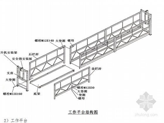 [浙江]ZLP630建筑吊篮安拆专项施工方案(多图)