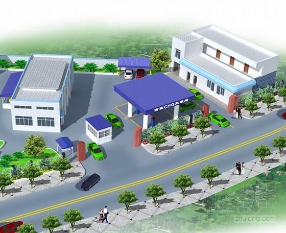 [湖南]2014年加气站建筑及安装工程量清单计价实例(附施工图纸)