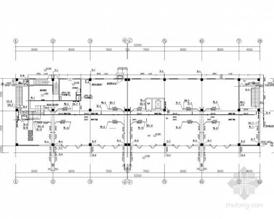 [海南]多层旅馆水电消防施工图(雨水利用)
