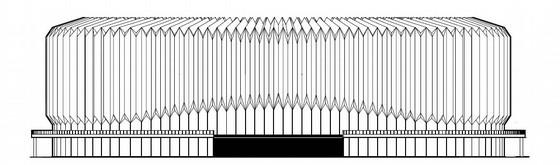 [江苏]大型文化艺术会展中心建筑施工图(知名建筑研究院)