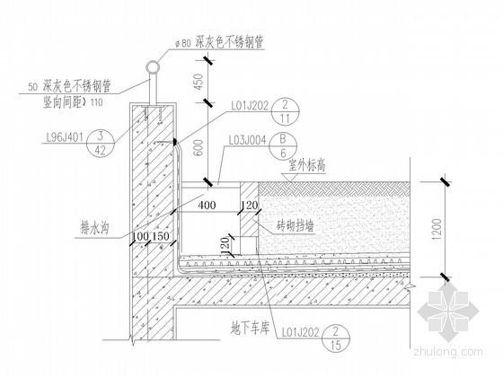 [山东]17层高层剪力墙结构住宅楼墙体大样图